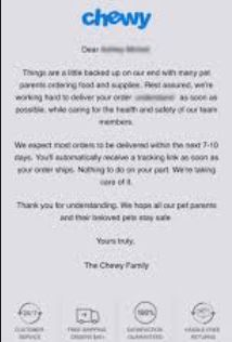 Chewy Refund Policy